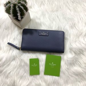 Kate Spade | NWT diverblue neda grovestreet wallet